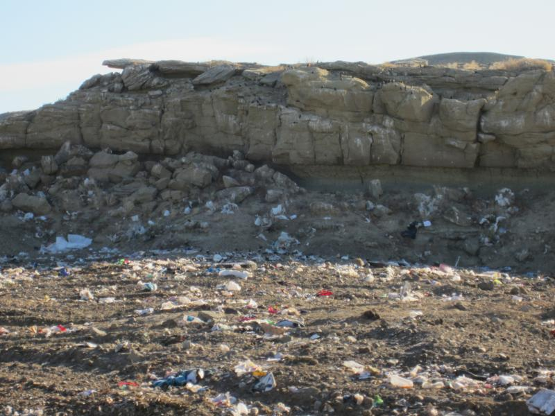 A cell at Powell's landfill has reached its highest level before it will be closed and capped next fall.