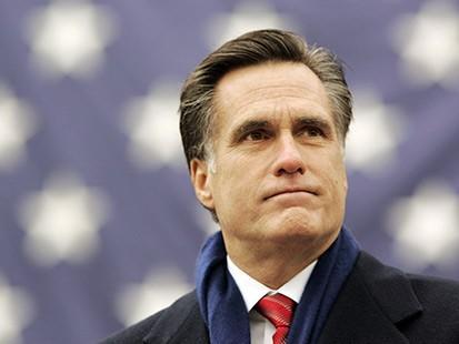 Republican candidate Mitt Romney