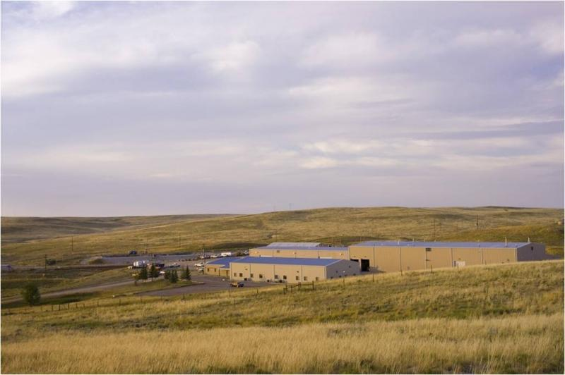 Cameco's Smith Ranch Central Processing facility