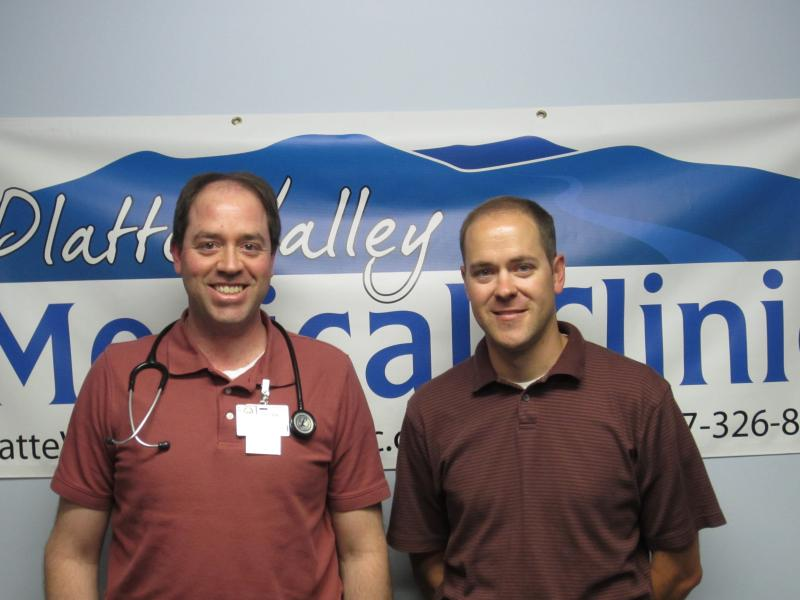 Second-year WWAMI student Mark Wefel worked with Dr. Dean Bartholomew at the Platte valley Medical Clinic in Saratoga this summer as part of a four-week Rural/Underserved Opportunity Program (RUOP).