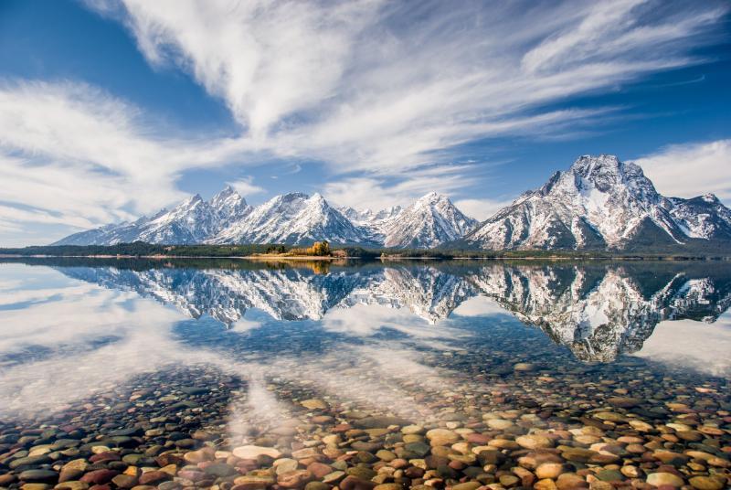 John Hebberger's 'Teton Reflections' winner of 'Only in Wyoming' Category.John lives in Jackson, Wyoming.