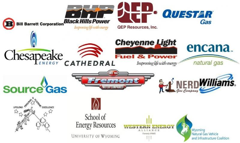 Wyoming Natural Gas Vehicle Infrastructure Coalition member organizations