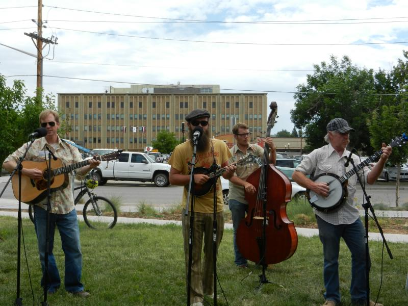 Cheyenne band BeatGrass playing live