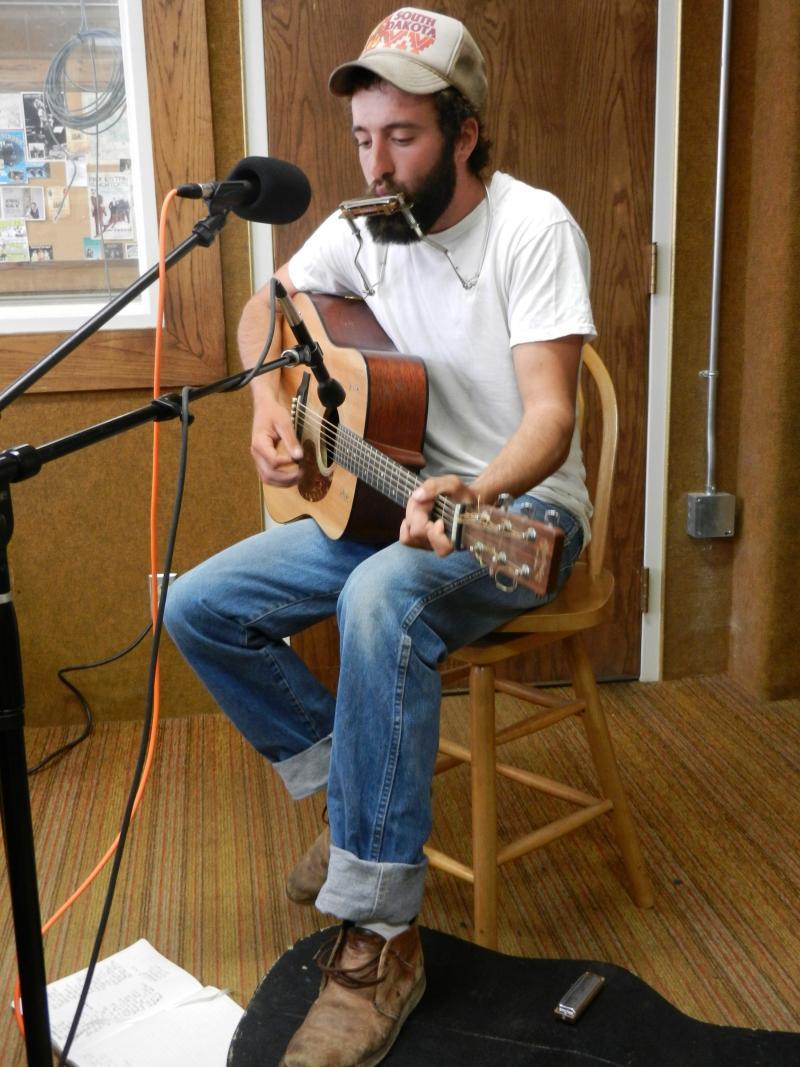Wyoming musician Luke Bell