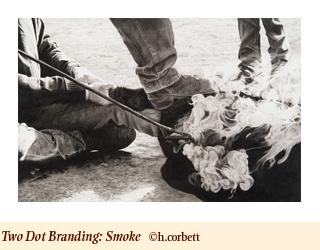 "Rox Corbett print ""Smoke"" (for a $1,200 pledge)"