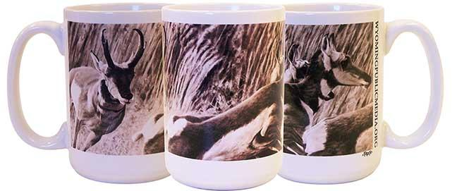Pronghorn mug  (for a $90 pledge)