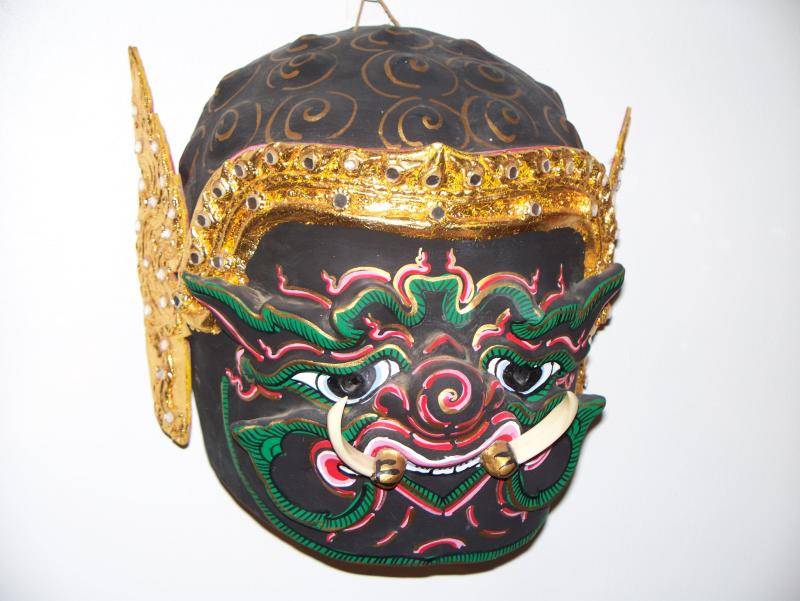 Papier-mâché mask from Thailand