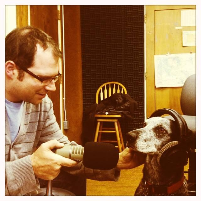 Micah Schweizer interviews Hugo about the arts. Happy Pet Wednesday!