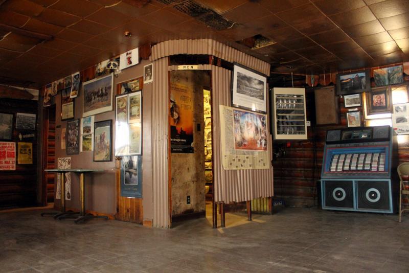 Inside Pete's Roc n Rye Club