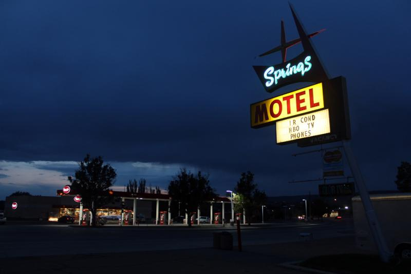 Springs Motel, Rock Springs WY