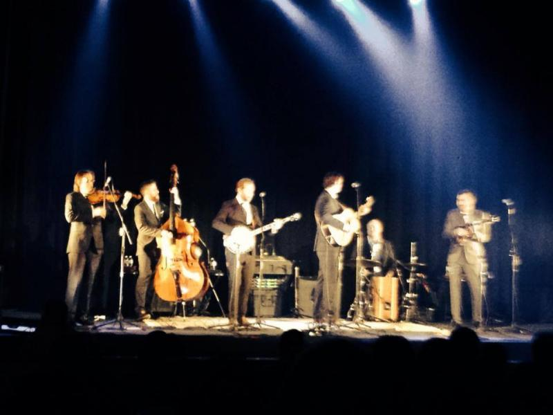 Steep Canyon Rangers at the Gryphon Theatre On March 1st