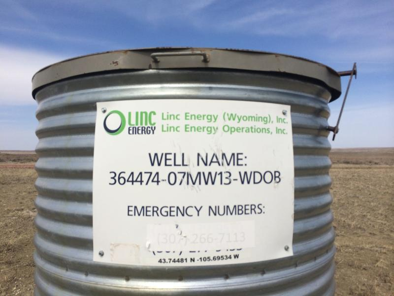 Linc Energy has installed 44 monitoring wells at its proposed test site, to establish baseline water quality.