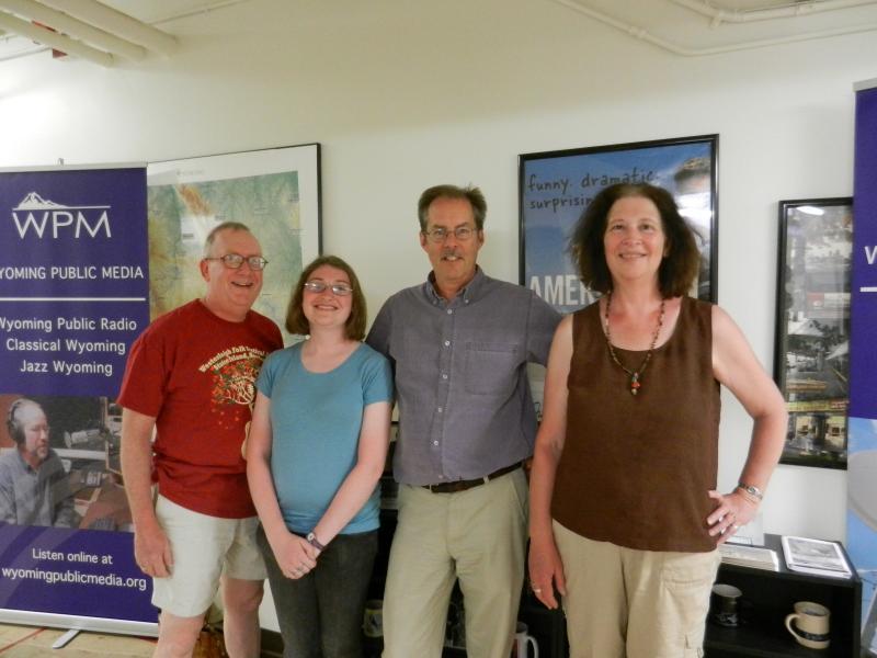 Andy, Leanna, WPR's Grady Kirkpatrick and Carole Kass.