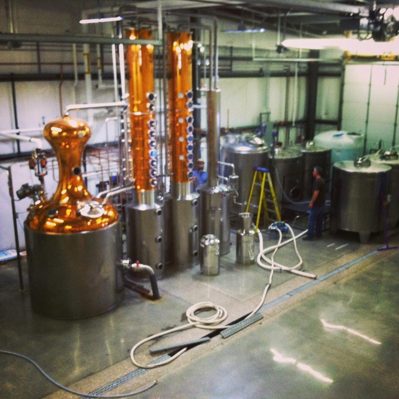 Backwards Distilling Company.