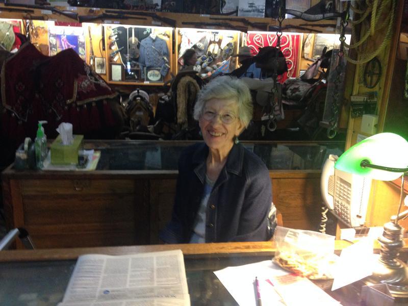 Local historian Karen Watembach.