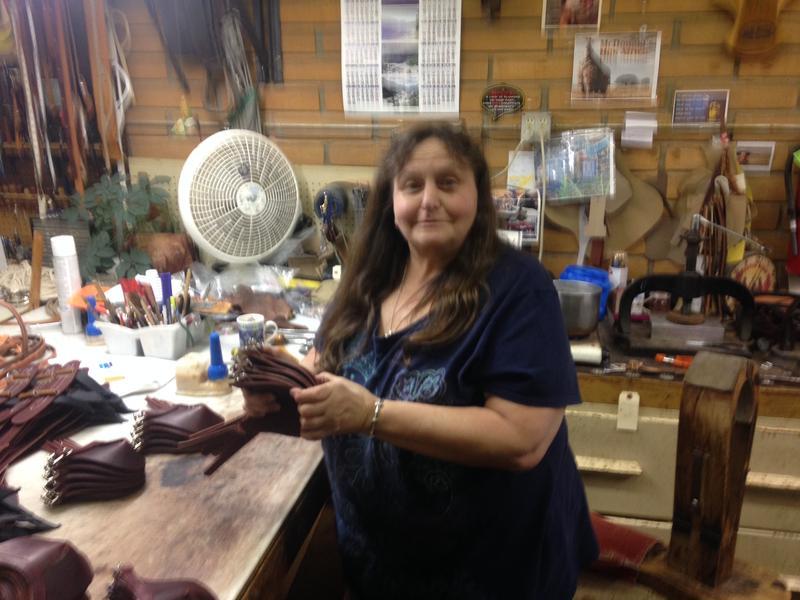 Sherri Sullivan Making Riding Boots