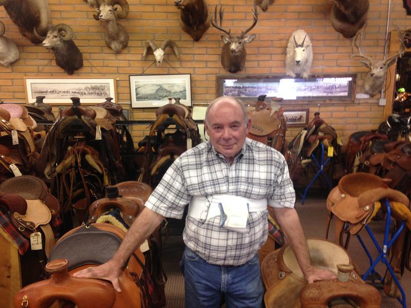 King's owner Bruce King.