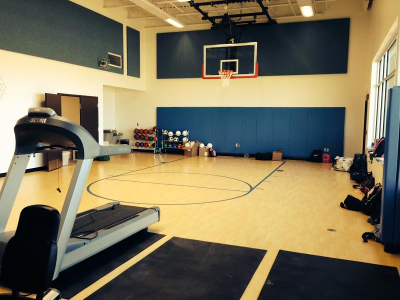 A gymnasium is a new addition for Westwood students.