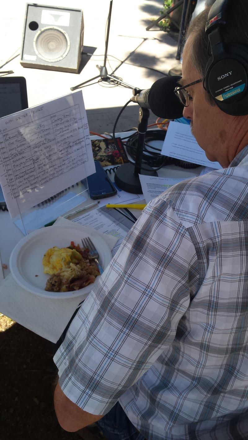 Delicious cowboy breakfast courtesy of WPR listener Sandy Stewart of Cheyenne.