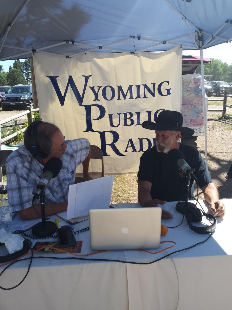 Grady interviewed parade wagons doctor and Carriage Restorer for Old Frontier Town Tom Watson of Cheyenne.