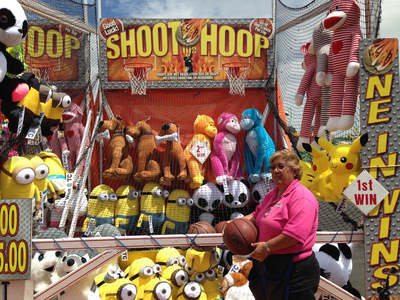 A carnival game operator from Pueblo, Colorado says she looks forward to Frontier Days every year.
