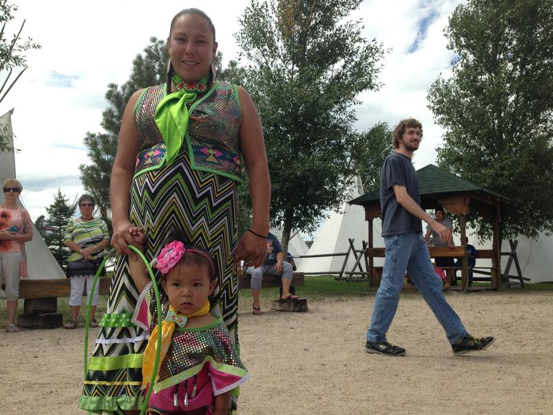 Dancers of all ages gave onlookers some insight into Native American pow-wow culture.