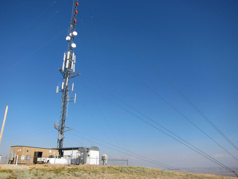KUWZ and KZUW Rock Springs/Green River transmitter facility.