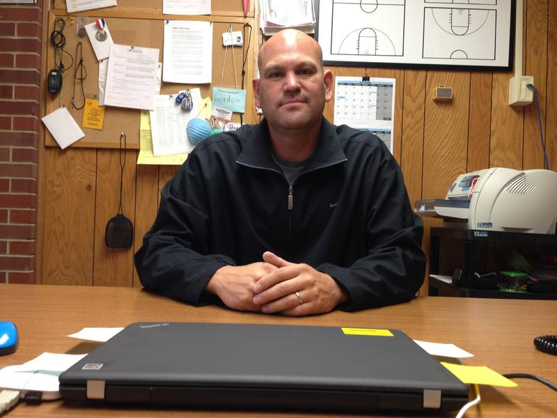 Craig Ferris is best known as Wyoming Indian High School's head basketball coach, but he's equally passionate about his job as a truancy officer at Wyoming Indian Elementary School.
