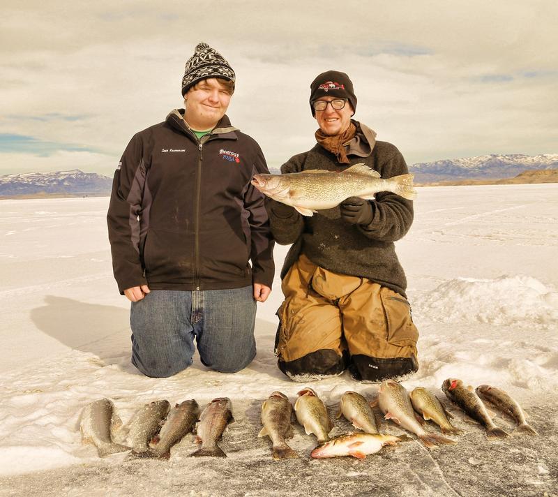 Boysen reservoir ice fishing derby for Chatfield fishing report