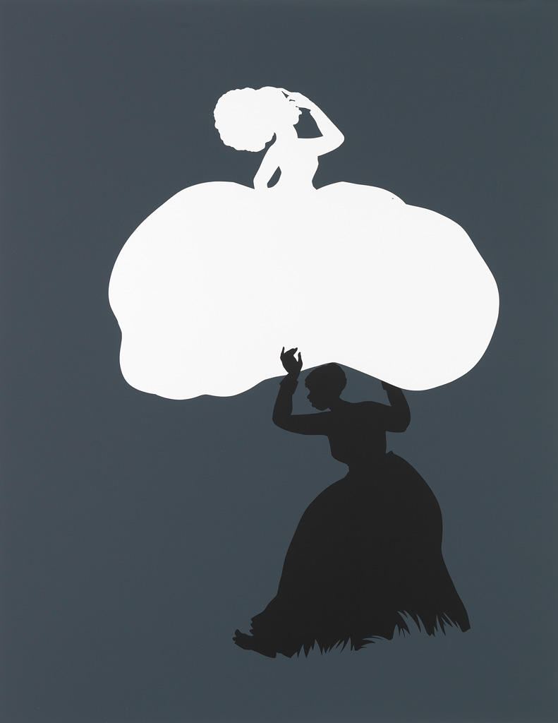 Kara Walker (American, b. 1969), The Emancipation Approximation (Scene #18), edition 7/20, 1999-2000, screenprint, 44 x 34 inches, collections of Jordan D. Schnitzer and the Jordan Schnitzer Family Foundation