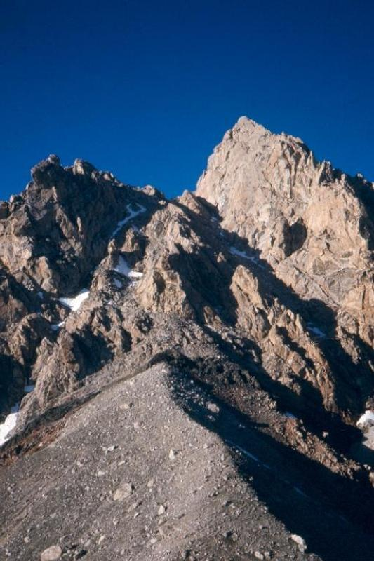 Grand Teton Enclosure from Lower Saddle