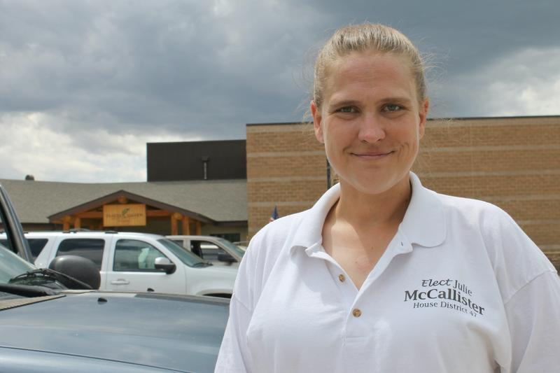 Julie McCallister has now run for Wyoming House District 47 and lost twice, but says she remains as committed as ever to politics and public service.