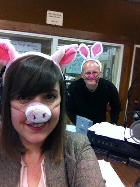 Rebecca Martinez & Bob Beck on Pet Wednesday