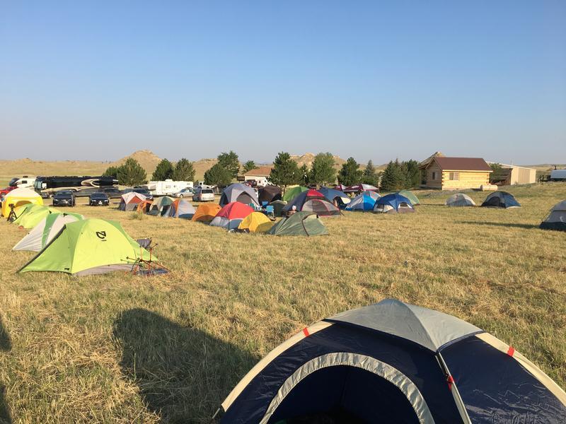 Campsite at the Fort Laramie B & B