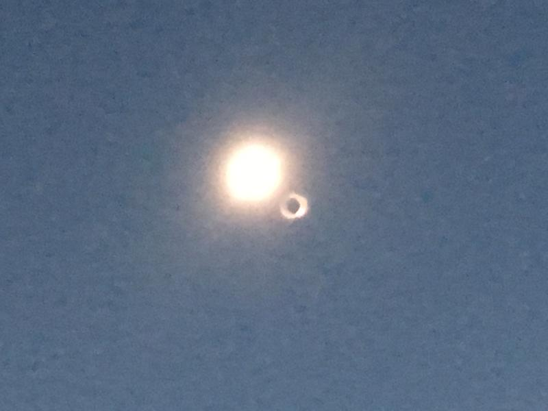 Eclipse at Shirley Basin