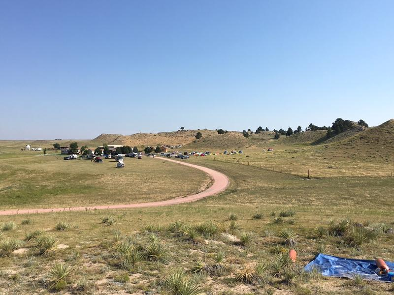 Goshen County is not used to being a major destination. But thanks to the eclipse, it was. Over 100,000 people visited the county to set up tents and campers as well as visit local festivities.  Reporter Cooper McKim flew over the county, saw downtown Tor