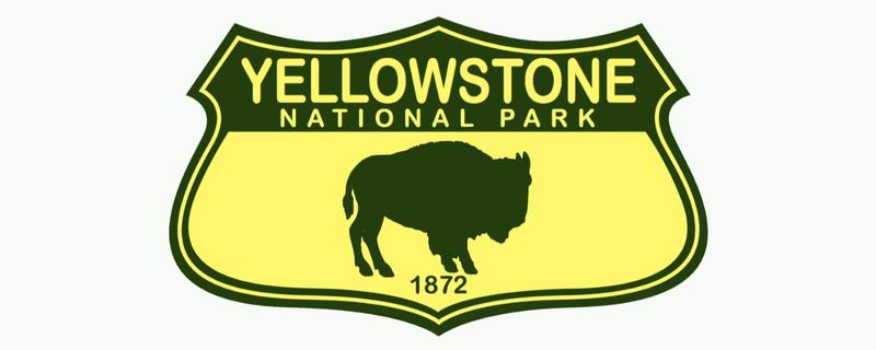 Yellowstone National Park Emblem Sticker