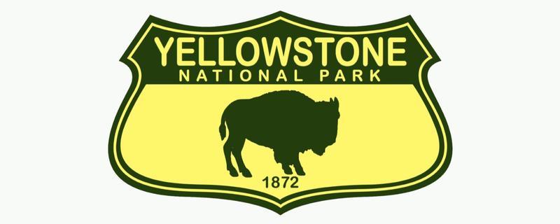 Yellowstone National Park Emblem Sticker
