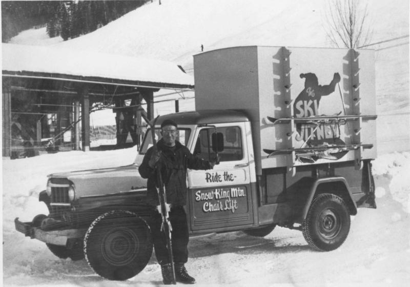 Considered the founding father of Snow King, Neil Rafferty planned and built Snow King's first chair lift. He operated portable rope tows on Teton and Togwotee passes in the '50s and '60s and built a cabin for cross-country skiers near Jackson Peak. ​