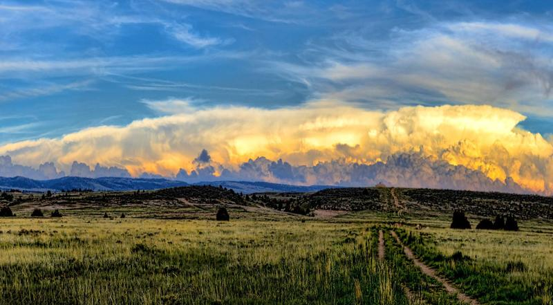 Laramie Range where it borders Medicine Bow National Forest