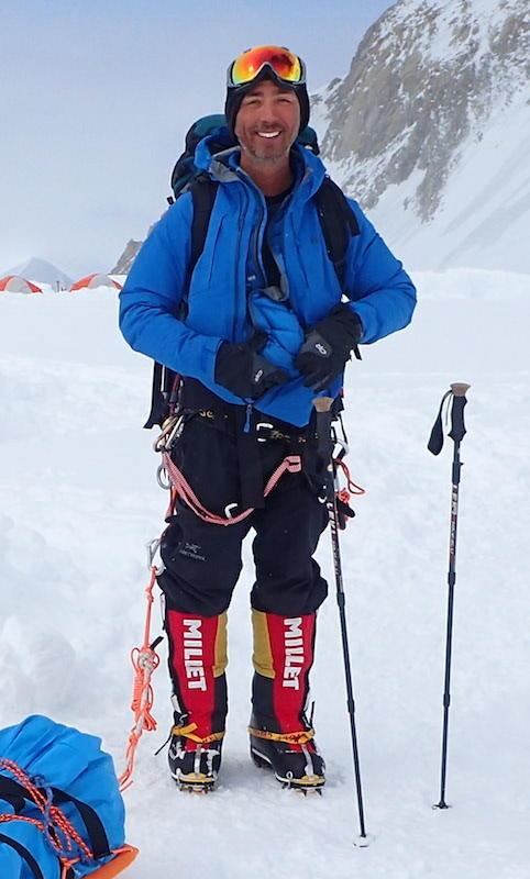 Aaron Linsdau has completed several solo expeditions to polar regions.