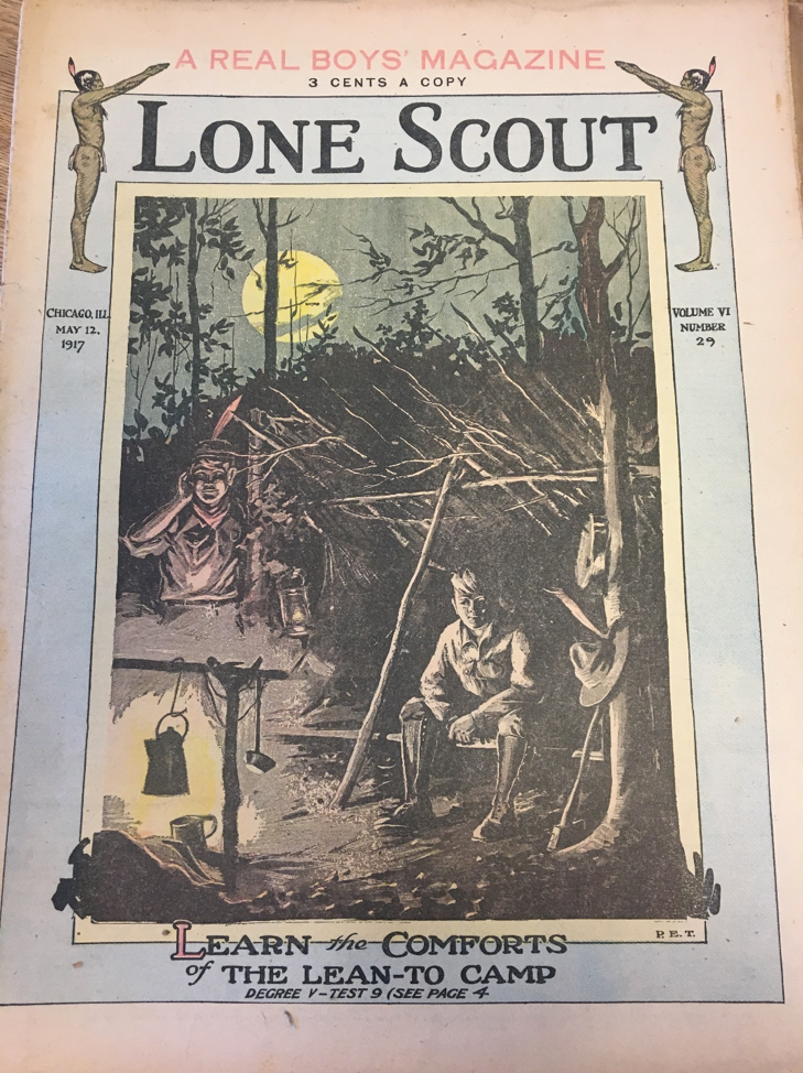 Lone Scout magazine from May 12, 1917. Box 17, Lone Scouts collection.