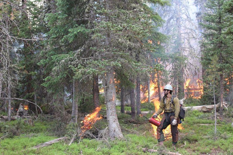 Keystone fire