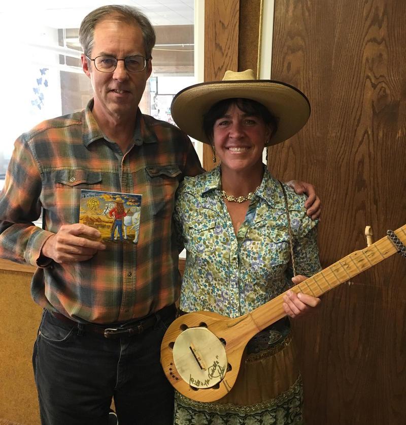 Grady Kirkpatrick with Miss V.