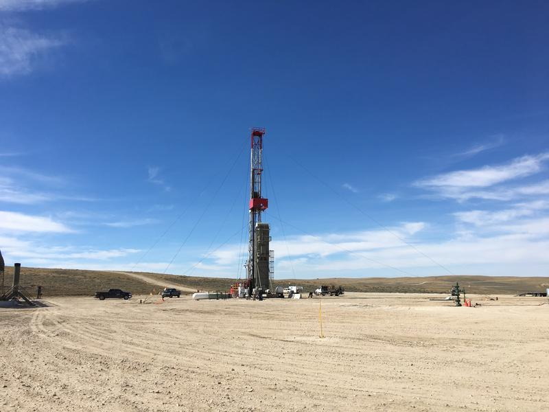 The Tuesday Draw well pad, located in Converse County, has two high-performing wells. It's owned by the Wold Energy Partners.