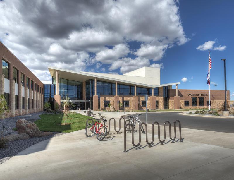 Albany County School District #1 New Laramie High School