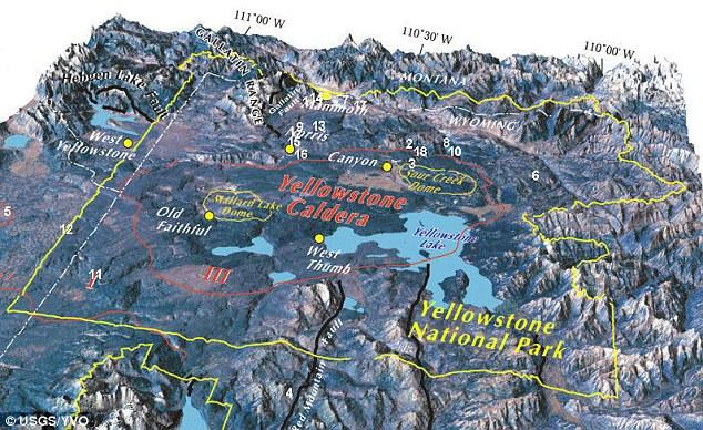 yellowstone caldera 21st in geological threat assessment wyoming