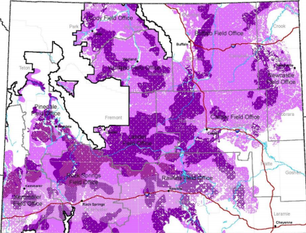 Existing Wyoming Greater Sage-Grouse Habitat Management Decision Area