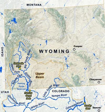 Lawmakers Shrink Funding For Colorado River System Dam Wyoming