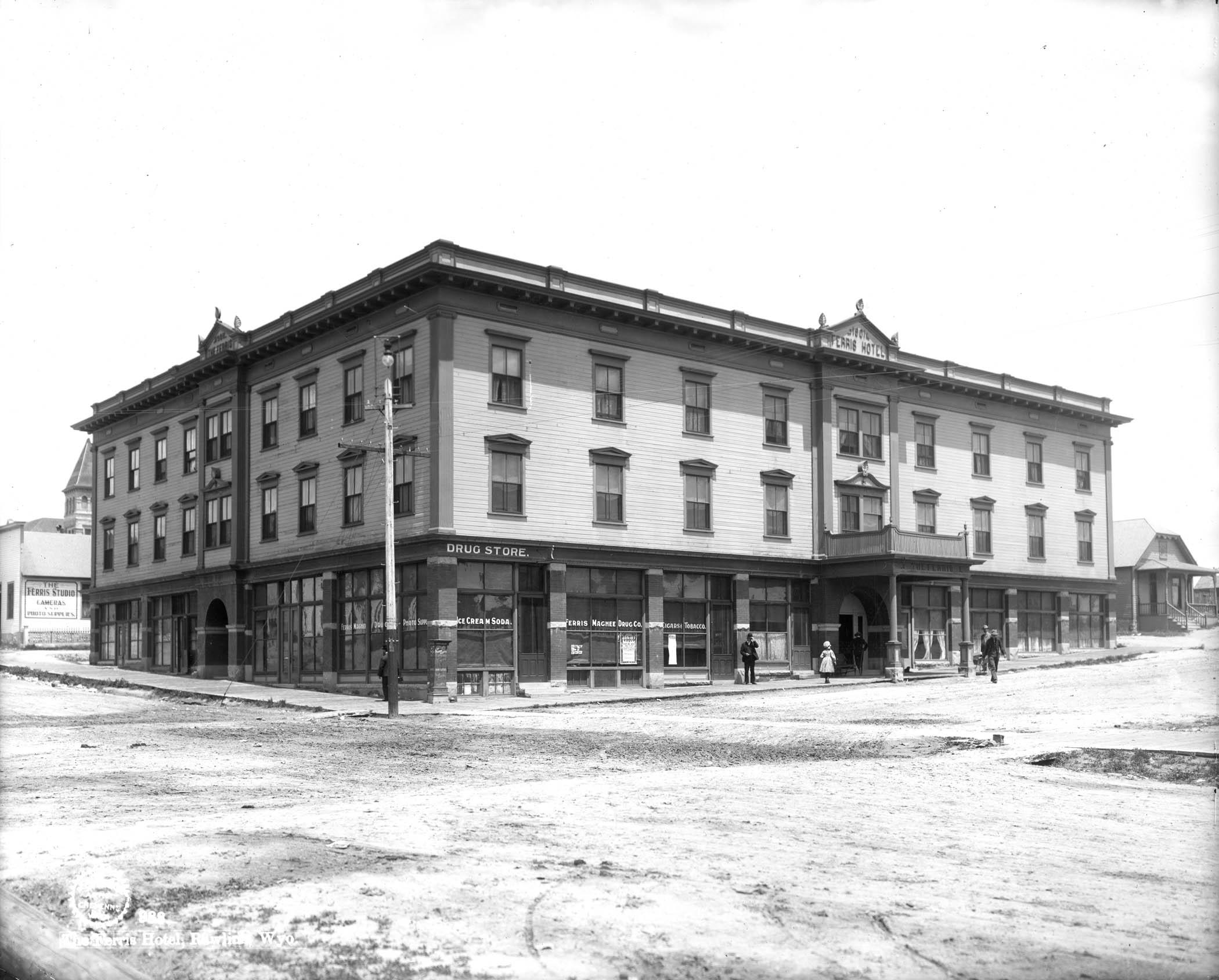 The Ferris Hotel Rawlins 1903 Rephotography Book Shows What S Changed Stayed Same In